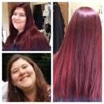 vibrant red colour treatments